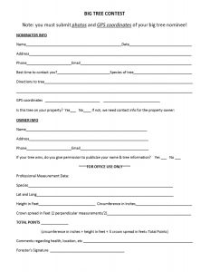 Nomination Form 1