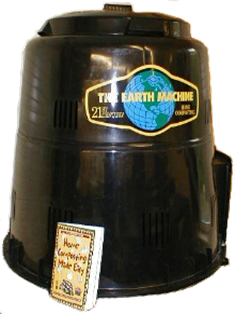 Rain Barrels, Composters, and Kitchen Pails.